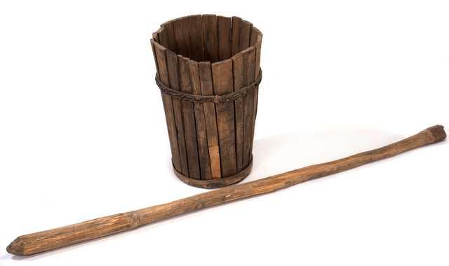 Ojibwe mortar and pestle