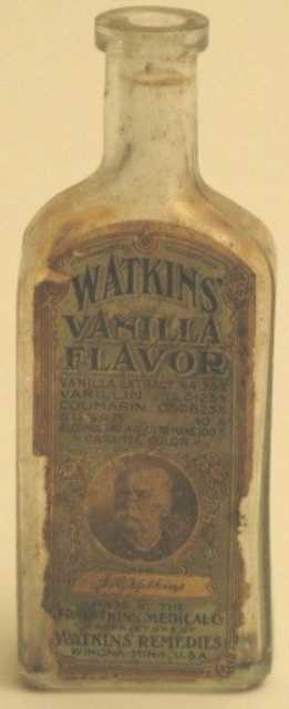 Vanilla extract bottle