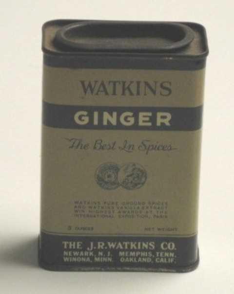 Ginger spice canister