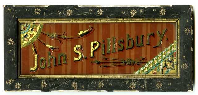 John S. Pillsbury sign