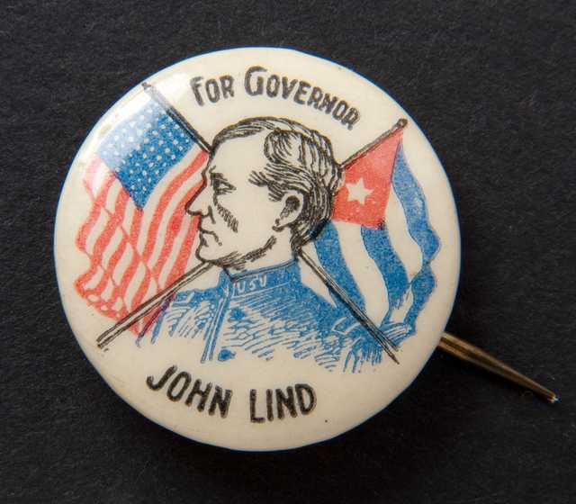 John Lind campaign button