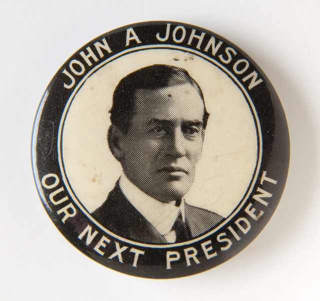 Johnson presidential campaign button