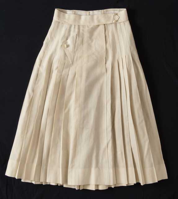 Woman's bicycle skirt
