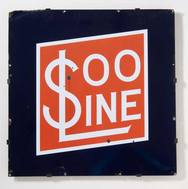 'Soo Line' sign