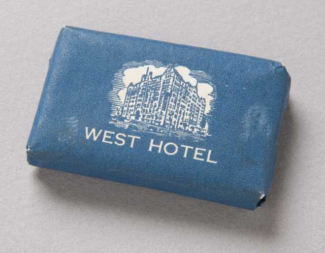 West Hotel soap bar (front)