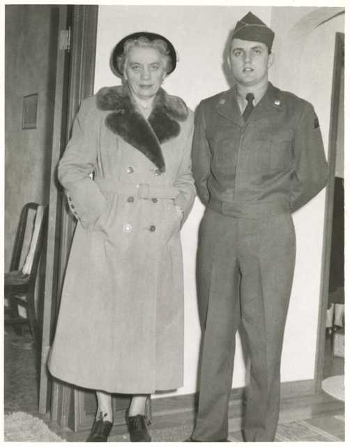 Walter and Claribel Mondale