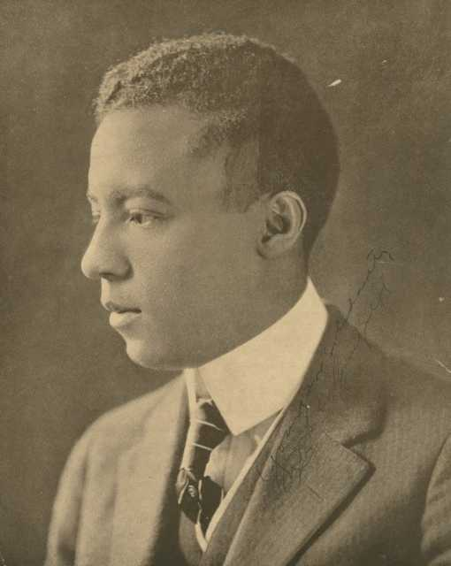 Black and white photograph of A. Philip Randolph, 1920. Courtesy New York Public Library.
