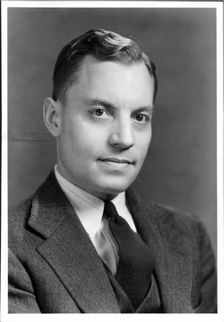 Black and white photograph of Dr. Ancel Keys, 1946.
