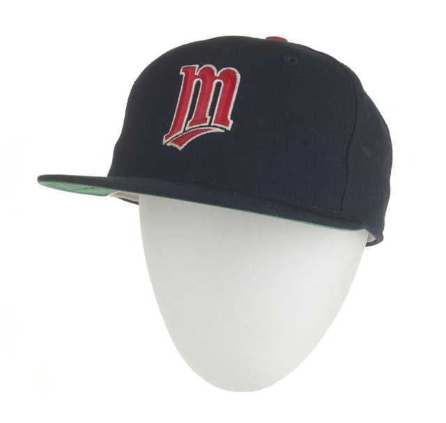 Minnesota Twins cap worn by Jack Morris