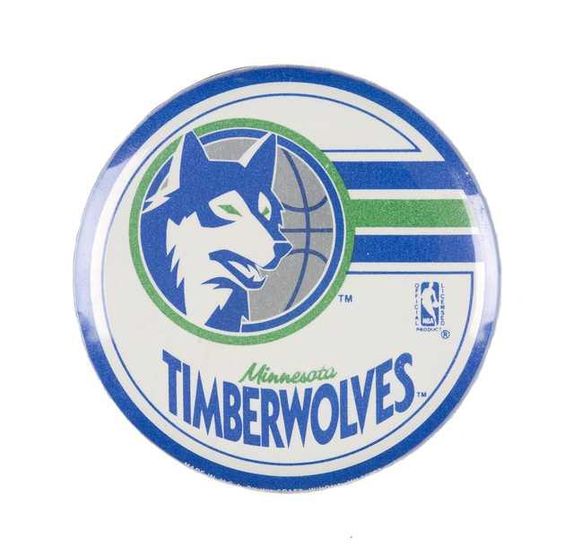 Minnesota Timberwolves button