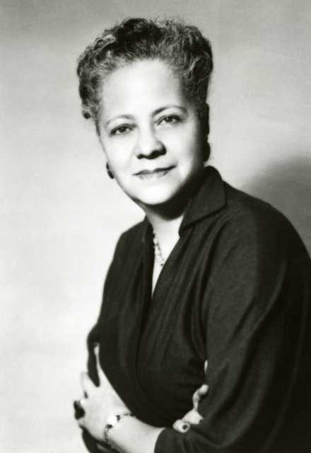 Anna Arnold Hedgeman, ca. 1950s. Used with the permission of Hamline University.
