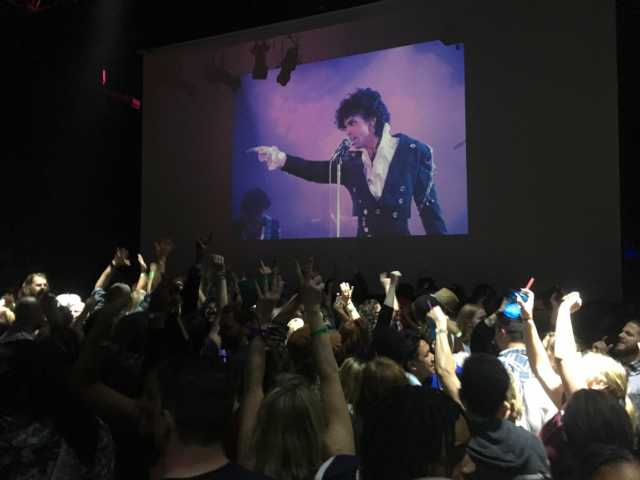All-night dance party held inside First Avenue on April 21, 2016, after the death of Prince.