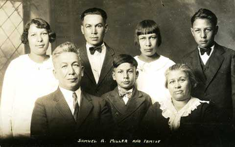 Samuel A. Miller and family