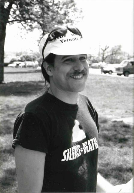 Minnesota AIDS Project volunteer Carlton Hogan