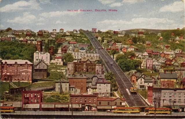 View of the Incline and Central Hillside