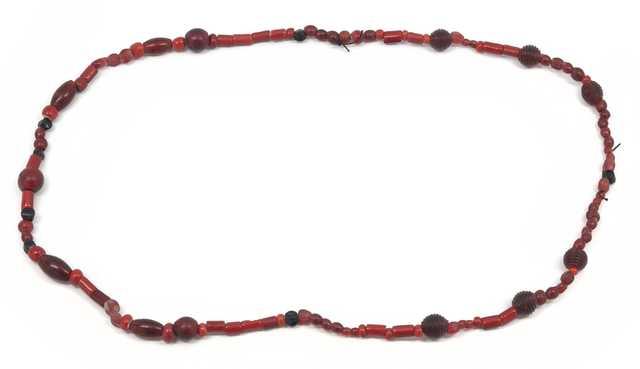 Dakota beaded glass necklace