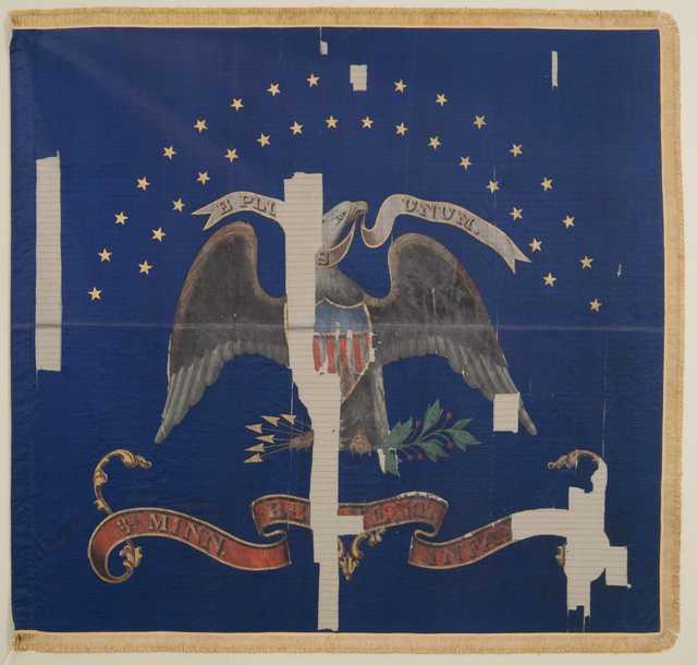 3rd Minnesota regimental battle flag