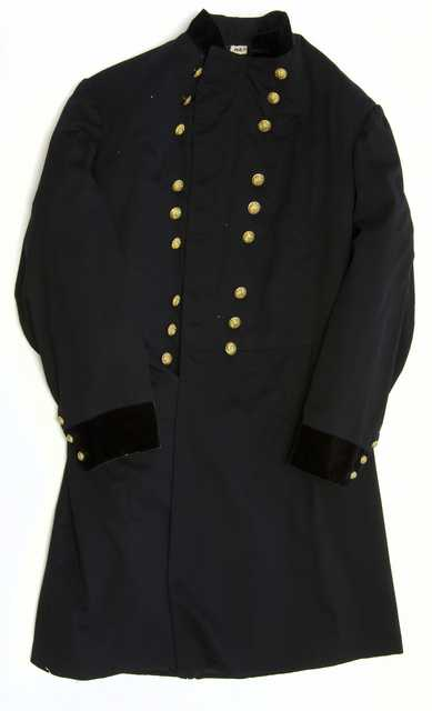 Color image of United States Army major general's frock coat worn by Henry H. Sibley, c.1865.