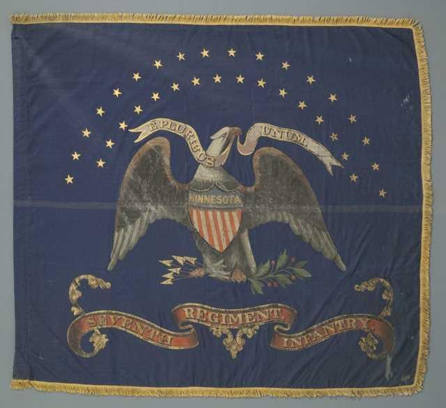 Battle flag of the Seventh Minnesota.