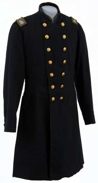 US Army colonel's uniform frock coat