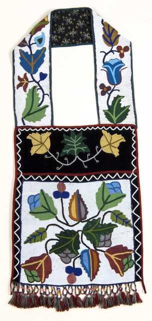 Ojibwe bandolier bag made c.1900.