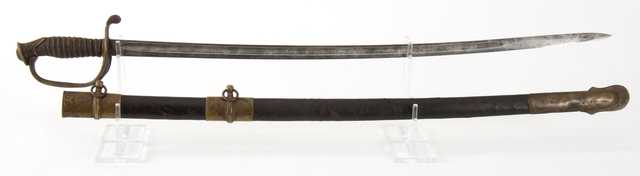U.S. Army officer's Model 1850 sword and scabbard