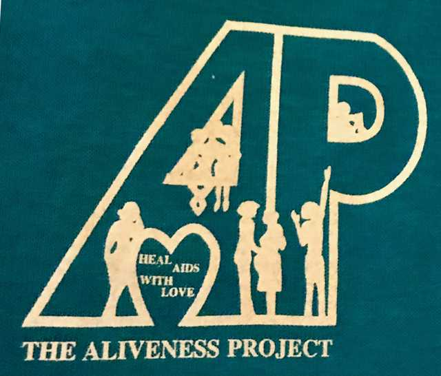 Aliveness Project t-shirt logo