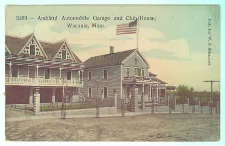 Amblard Auto Garage and Clubhouse