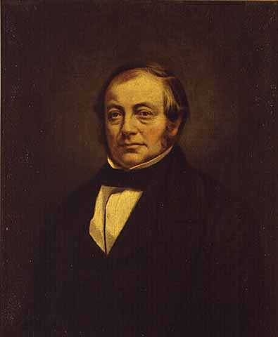 Oil on canvas painting of Charles W. Borup, 1856. Borup was a cautious investor and partner in the St. Paul Bank Borup and Oakes. After the panic ruined him financially he jumped from a bridge into the Mississippi River.Oil on canvas painting of Charles W. Borup, 1856. Borup was a cautious investor and partner in the St. Paul bank Borup and Oakes. After the panic ruined him financially he jumped from a bridge into the Mississippi River.