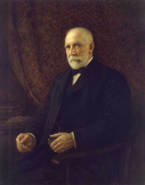 Frederick Weyehaeuser, 1924. Oil on canvas painting by M. Askinazy.