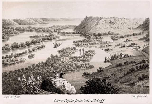 Lake Pepin from Barn Bluff