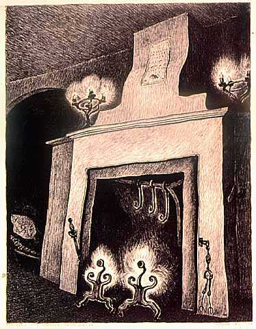 Lithograph on paper by Wanda Gág, 1930.