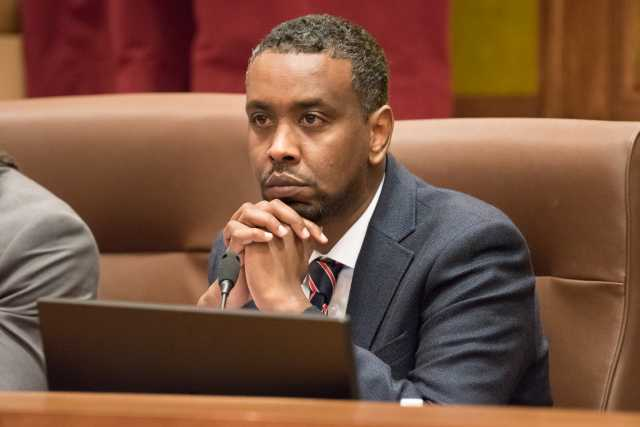 Photograph of Minneapolis City Council Member Abdi Warsame.