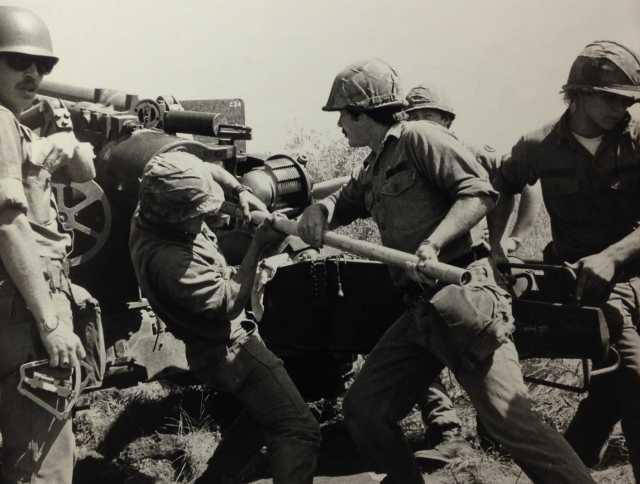 Gun Crew of the 151st Field Artillery