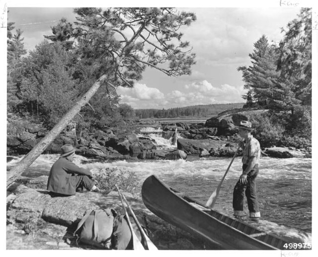 Forest Service workers in the Boundary Waters Canoe Area Wilderness