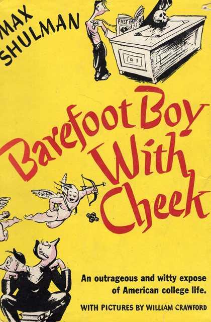 Cover of Max Shulman's Barefoot Boy With Cheek (Doubleday, Doran, 1943).