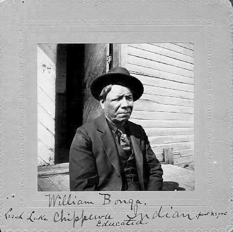William Bonga, Ojibway.