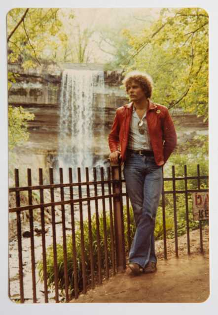Bruce Brockway at Minnehaha Falls