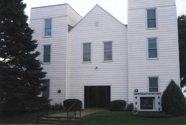 Color image of Carson Mennonite Brethren Church, Delft, Minnesota (1949–2005). Photograph ca. 2000s.