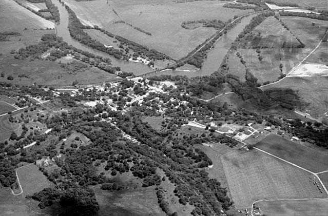 Aerial view, Carver
