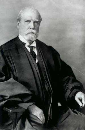 Black and white photograph of U.S. Supreme Court Chief Justice Charles Evans Hughes, 1931.