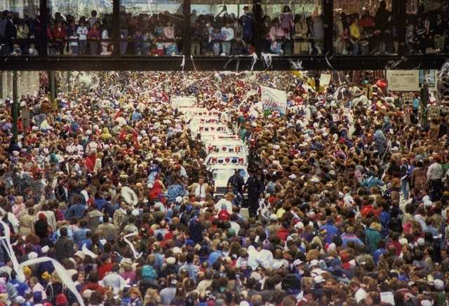 Minnesota Twins World Series victory parade, 1987