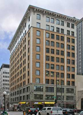 Color image of the St. Paul Commerce Building, c.2007.