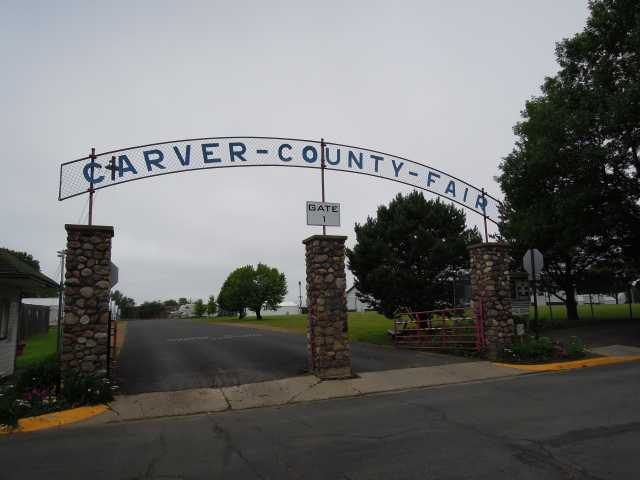 Front gate, Carver County Fairgrounds