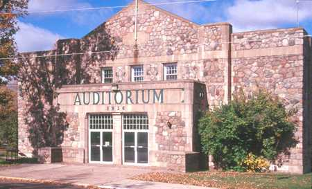 Color image of Deerwood Auditorium, 1995.