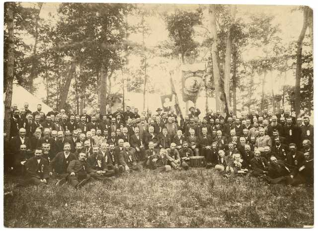 Reunion of the First Minnesota Volunteer Infantry Regiment