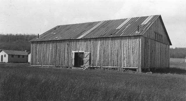 CCC-ID camp recreation hall at Grand Portage