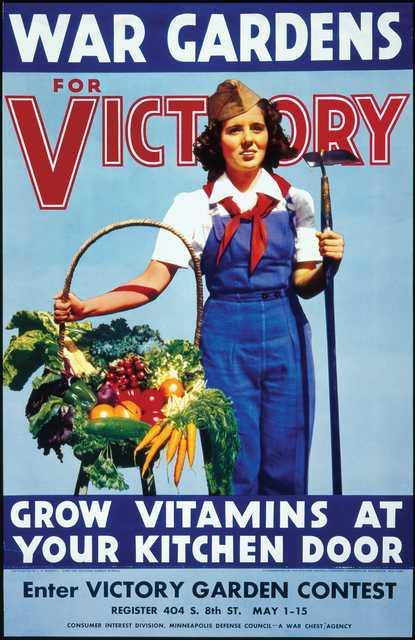 Victory-garden poster