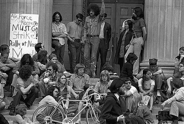 University of Minnesota student protest