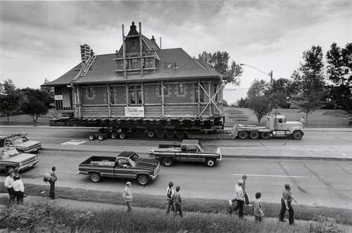 Moving Endion Depot, 1986